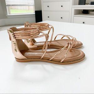 Forever Rosegold Sandal